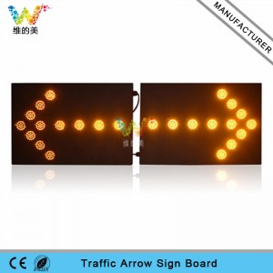 Road Stud New Design High Quality Waterproof 1200*600mm Aluminum Traffic Led Arrow Board Roadway Safety