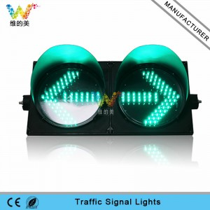 New design 300mm green arrow signal light LED traffic light for sale in UAE