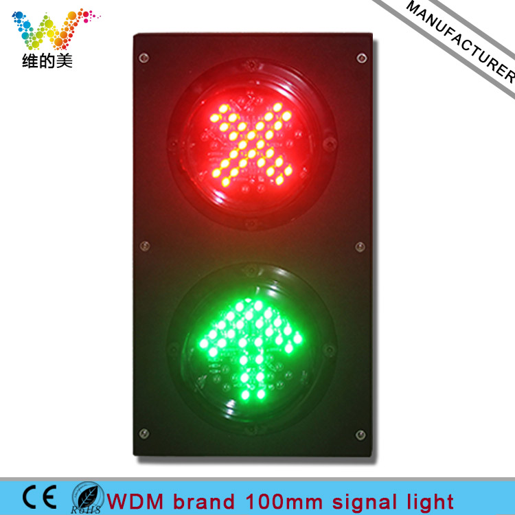 Dc12v High Quality Waterproof Mix Red Green Traffic Signal Module Led Traffic Signal Light For Car Washing Equipment Traffic Light Security & Protection
