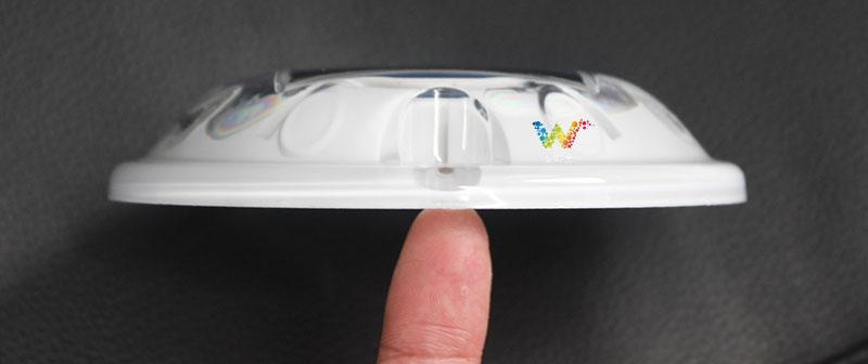 圆形到顶塑料白色实图03