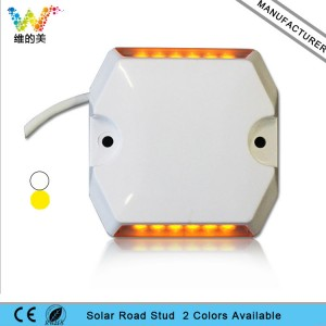 Waterproof plastic tunnel road LED wired road stud