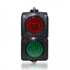 100mm colored lens LED traffic signal light red green LED traffic light on sale