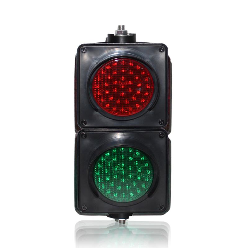 100mm colored lens LED traffic signal light red green LED traffic light on sale