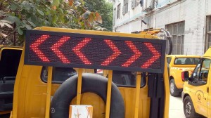 Construction vehicle LED  display screen