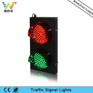 Customized 200mm cold-rolled plate red green LED traffic light