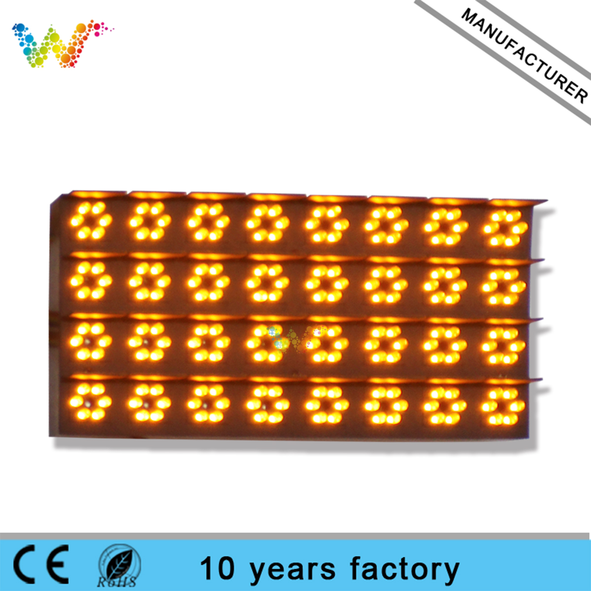 outdoor advertising Single Color P33.33 LED Display Module