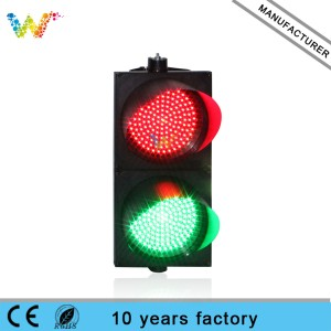 red green color 300mm led traffic signal light