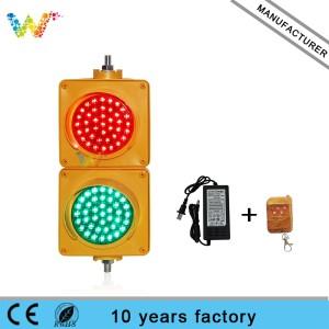 Small gift 100mm red green mini traffic signal lights