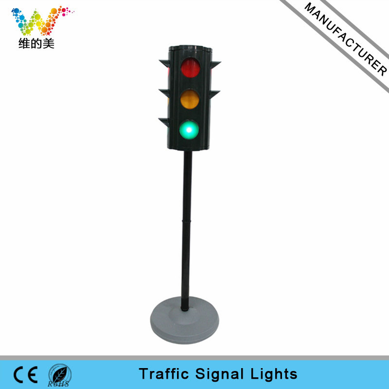 Light Pole Design: Portable Pole Design Mini School Teaching LED Traffic