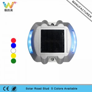 High brightness IP68 CE approved solar power road stud  LED landscape lights