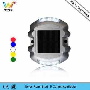 High quality CE RoHS approved LED landscape light waterproof solar road stud