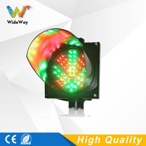 Parking lots 200mm red cross green arrow LED traffic signal light high brightness traffic guide light