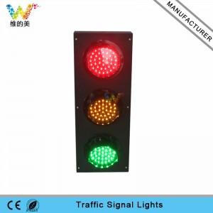 School teaching mini LED traffic signal light customized 100mm LED traffic light