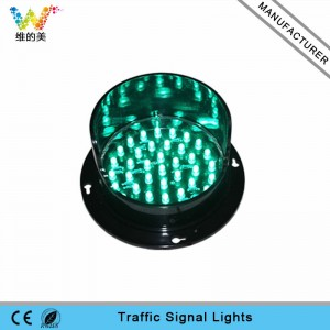 High quality 100mm green LED module traffic light replacement