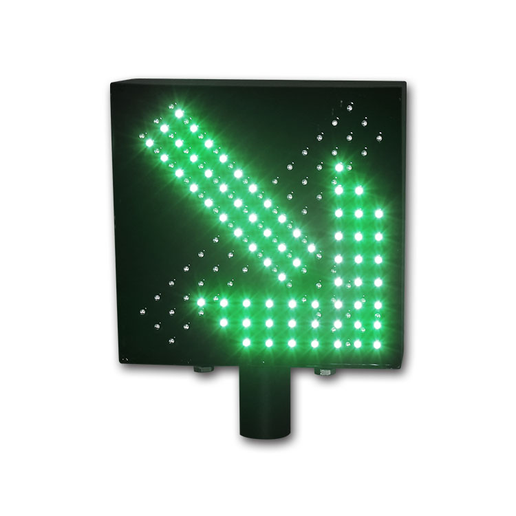 High quality waterproof toll station red cross green arrow traffic light