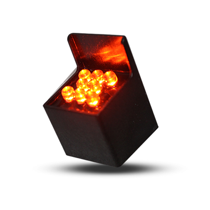 factory direct price customized mini traffic light parts 28mm red LED pixel cluster