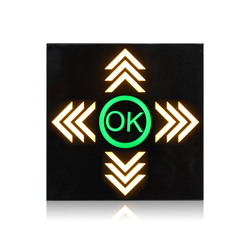customized parking lots arrow traffic signal light for sale