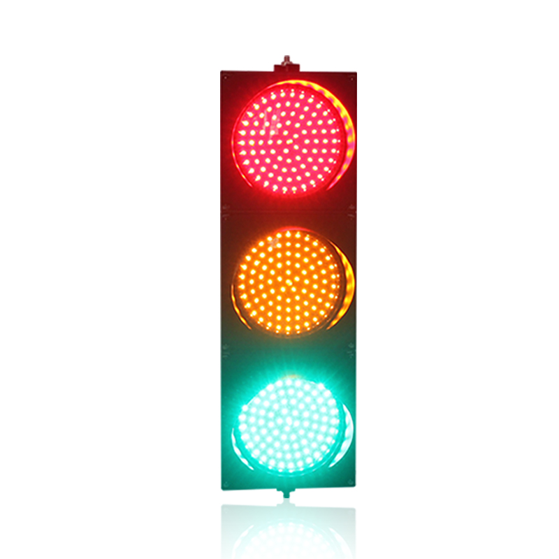 New arrival cheap price 200mm red yellow green LED traffic signal light manufacturer