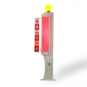crossing road pedestrian LED traffic warning light with LED display