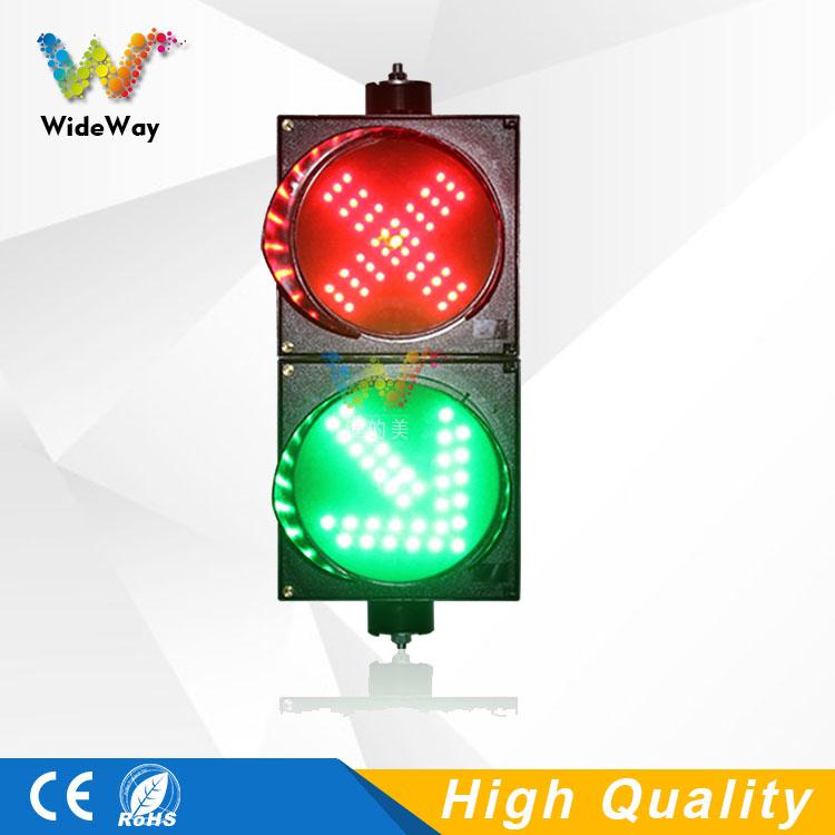 Traffic Light For Sale >> Dc12v New Design Parking Lots 200mm Red Cross 45 Degree