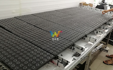 Full Color Outdoor  Customized Size P33.33 Advertising Led Display Module