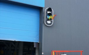 Warehouse traffic signal light from Shenzhen wide way factory