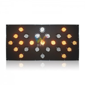 Customized size remote control 100mm lamp LED arrow board light