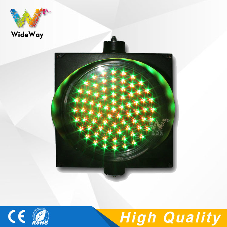 300mm mix red yellow green single full ball LED traffic signal light on sale
