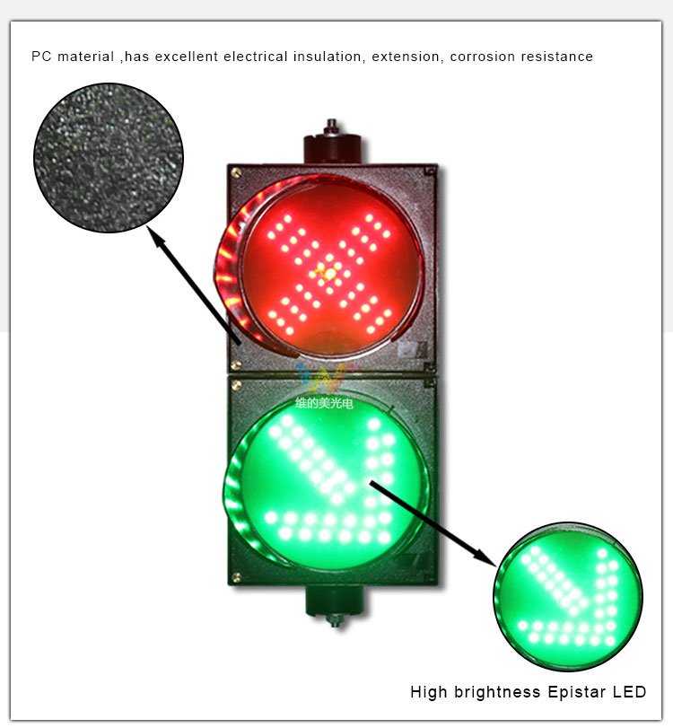 Traffic Light Security & Protection Cold-rolled Plate Material Red Yellow Green Led Traffic Signal Light Remote 200mm Fine Quality