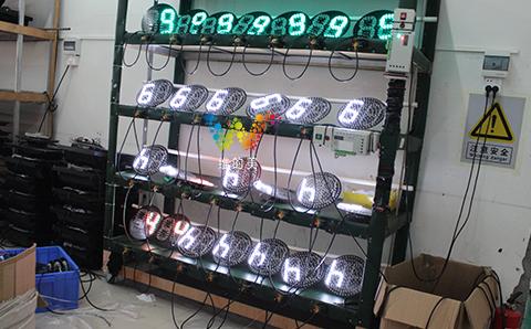 200mm countdown timer traffic light-1
