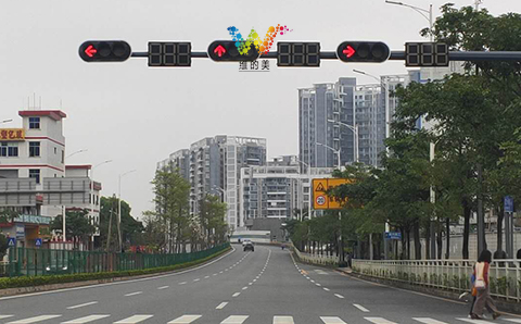 200mm countdown timer traffic light-2