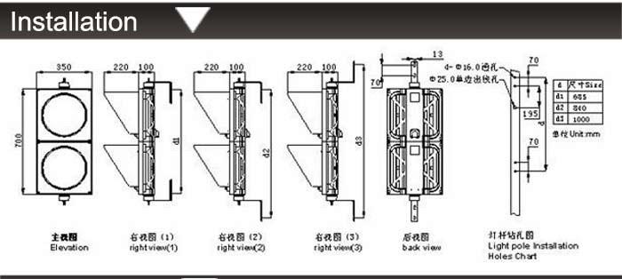 200mm  Signal Light  13