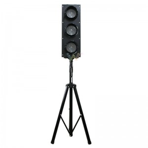 High quality customized 125mm traffic signal light with pole