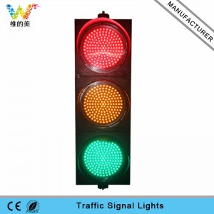 New design 300mm red yellow green LED traffic signal light