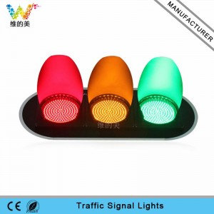 300mm small lens led traffic signal light