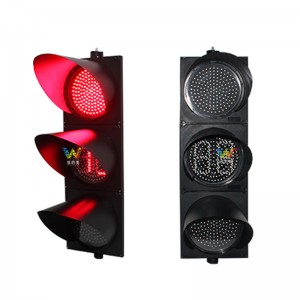 300mm double 8 countdown timer red yellow green traffic light