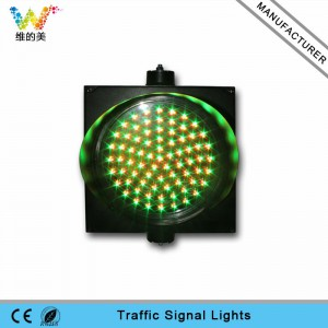 Best quality and factory Fixed Competitive Price High Performance  300mm red yellow green LED PC housing LED traffic light in Turin Factory for Lahore Supply to Egypt