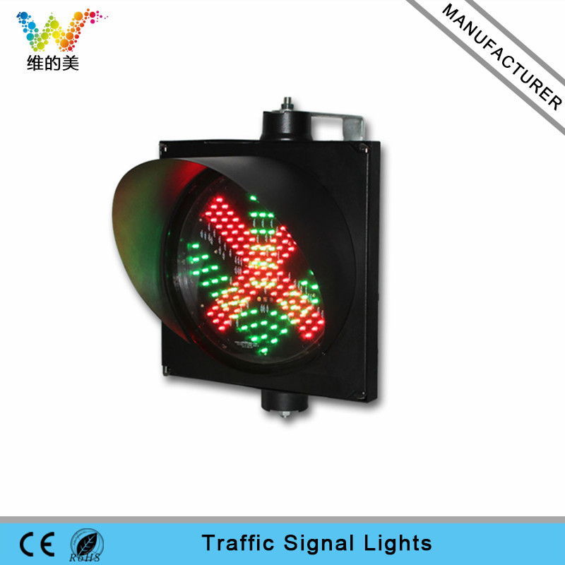 Hot Selling 300mm Double Green Arrow Traffic Signal Light Crossing Road Led Signal Lights Roadway Safety Traffic Light