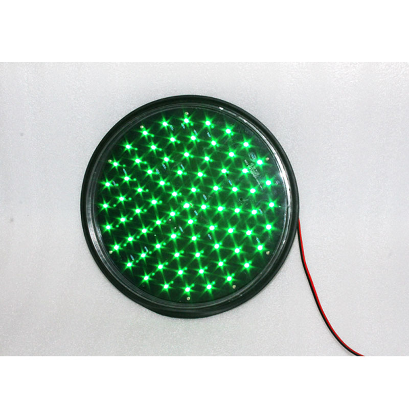 Roadway Safety Sporting High Quality Cold-rolled Plate Mini Led Traffic Signal Light 82mm Lamp Red Green Traffic Light Sale
