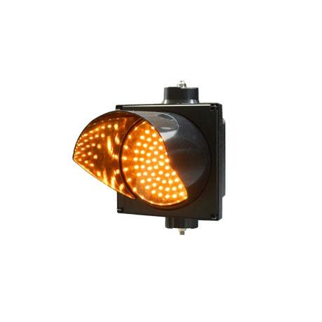 New 200mm yellow single LED full ball traffic signal light