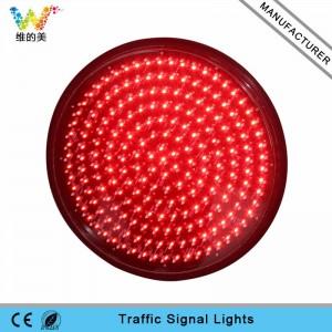 High brightness 400mm red LED traffic light module
