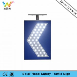 10 Years Manufacturer Hot sale good quality Road safety aluminum LED flashing solar warning light  Factory from Bogota Supply to The Swiss
