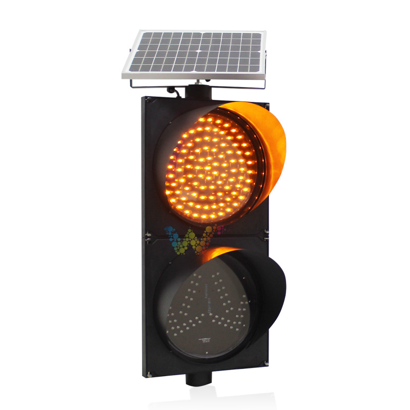 What is a left right lane sign traffic light?