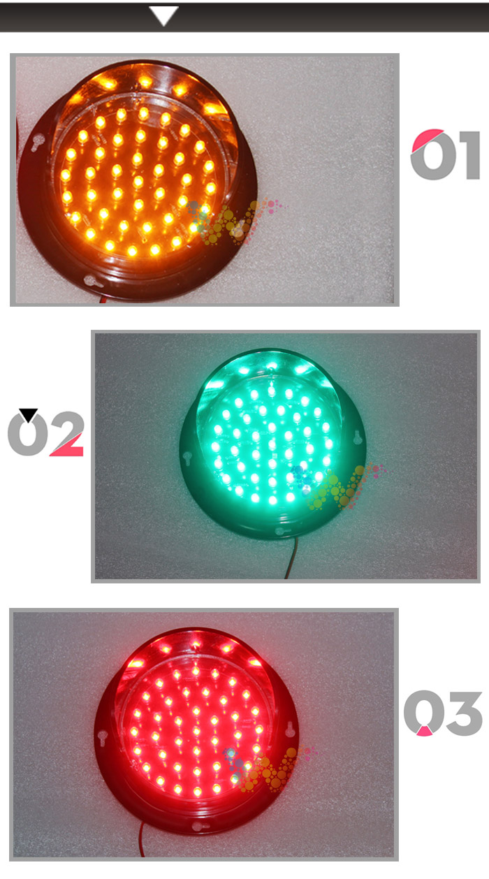 Professional China High quality 100mm yellow LED flasing module ... for Real Traffic Lights  584dqh