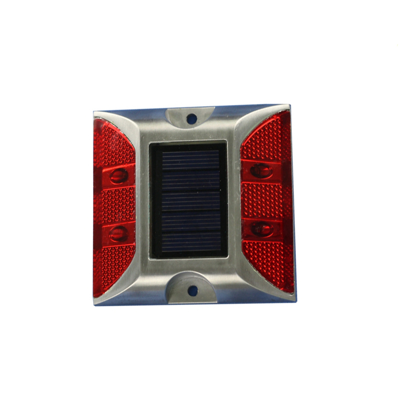 Special Design for 4pcs red LED light high quality reflector solar