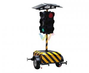 huge portable solar traffic light from Shenzhen Wide Way Factory