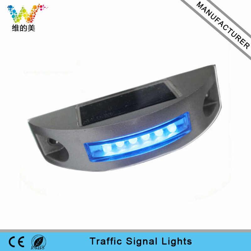 blue LED road stud