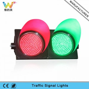 Crossing road 300mm red green LED traffic signal light