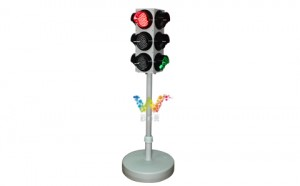 New protable mini 125mm LED traffic signal light