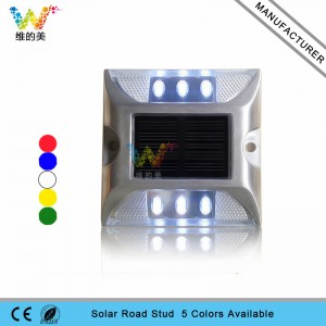 High quality white LED light reflector soar road stud